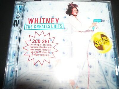 Whitney Houston The Greatest Hits Very Best Of (Australia)(Gold Series) 2 CD NEW