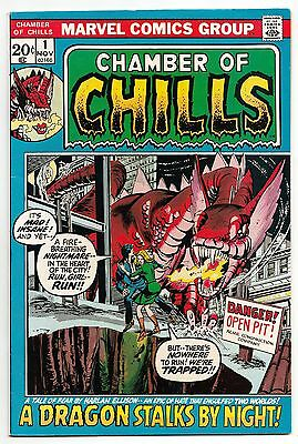 Chamber Of Chills #1 Nov 1972 Vf 8.0 Marvel Comics
