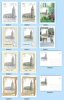 Cp Cpa Cpm Cpsm 12 Cartes Postales Multi Version 1 33522 Lesparre Medoc