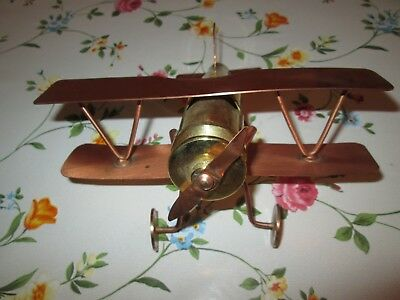 RARE COLLECTABLE RHODESIAN WAR 1970s TRENCH ART AEROPLANE
