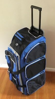 Protege 30 Carry Bag For Travel Rolling Trunk Wheeled Duffel Blue