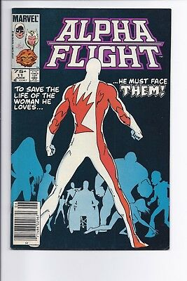 Canadian Newsstand Edition $0.75 Price Variant Alpha Flight #11