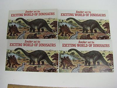 Sinclair Refining Co Dino Exciting World Of Dinosaur Worlds Fair Booklet Oil Gas