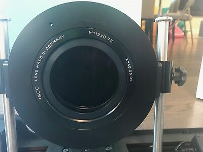 ISCO 3 Projection Lens with Motorized Home Cinema and Movie Glider