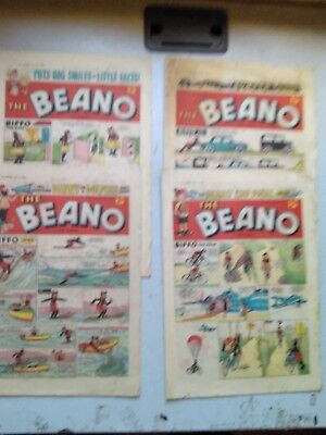 Beano Comics 4  Issues From 1960  933/939/940/941