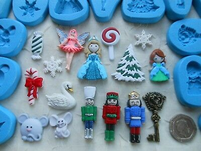 1x Sugarcraft/Fimo MOULD: Nutcracker Inspired (Chocolate Wax Resin PMC Clay)