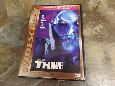 Stephen King's Thinner (DVD, 2001, Widescreen) Tested