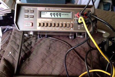 Keithley 580 micro-ohmmeter