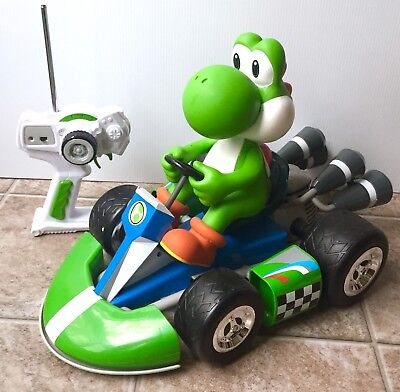 """Mario Kart Yoshi 17"""" RC Car W/ Battery & Remote Wii Remote Controlled"""