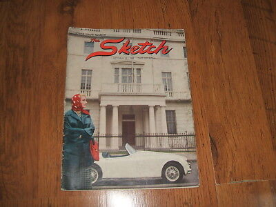 The Sketch - 22/10/1958 magazine;Evening fashion,Motor Show edition,Humber.....
