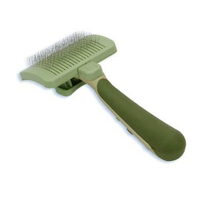 Safari Self Cleaning Slicker Brush Large | Stainless Steel Grooming for Dogs