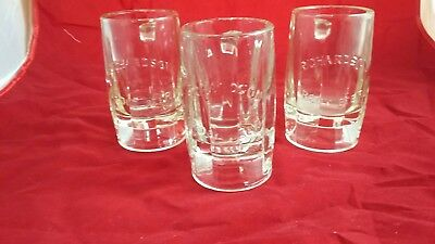 Vintage Early RICHARDSON  Root Beer Glass Mug Embossed 10 Sided 5 3/8 IN TALL x3