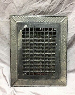 Arts and Crafts Cast Iron Heat Grate Floor Vent Register Surround 10x14 260-18C