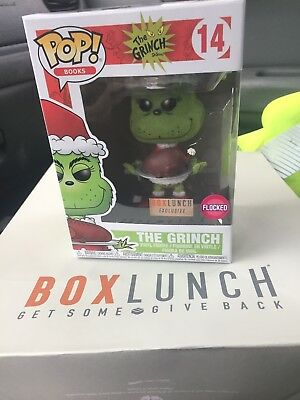 Funko Pop  The Grinch 14 Flocked Box Lunch Exclusive Vinyl