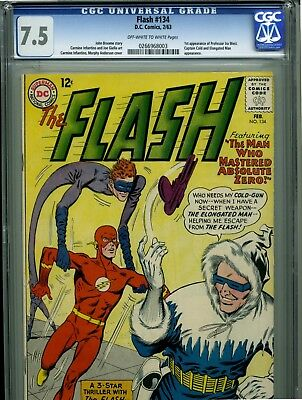 The Flash #134 - February, 1963 - CGC 7.5 - (1st appearance Ira West)