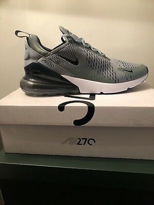 Men's Nike Air Max 270 Clay Green/Black-Deep Jungle Size 11  -100% AUTHENTIC