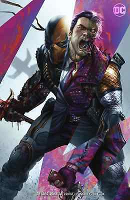 Deathstroke 38 Francesco Mattina Variant Batman Nm Pre-Sale 12/5