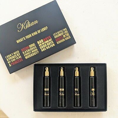 New In Box Kilian My Kind Of Love Four Fragrance Discovery Set