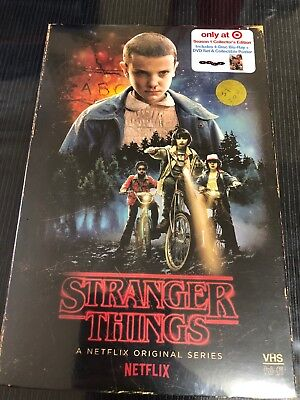 New Stranger Things Season 1 Blu Ray Dvd Target Exclusive Vhs Packing