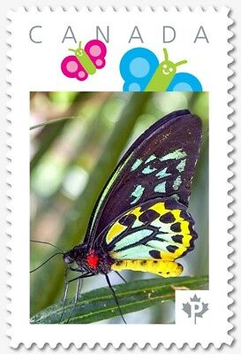 BUTTERFLY = Personalized Picture Postage stamp Canada 2018 [p18-07s17]