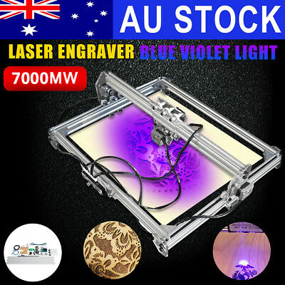 7000MW 100x100cm Laser Engraving Carver Cutting Engraver Cutter Printer Machine