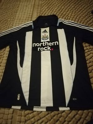 Newcastle United Fußball Fußballtrikot 2007/2008 Adidas Home XL Premier League