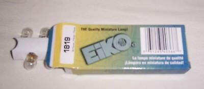 10 #1819 Eiko Clear Light Bulbs Lamps Wacky Gator Redemption & More New!