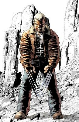 Old Man Logan 50 Ny Collectors Cave Mike Deodato Jr 1000 Print Run Variant Nm