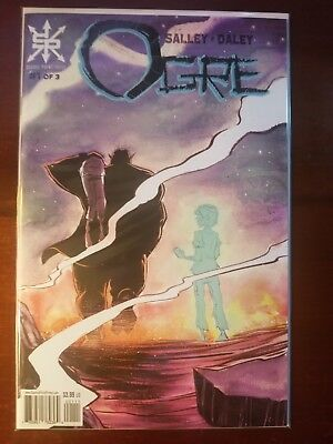 Ogre #1 Source Point Press SOLD OUT NM+ First Print Low Run NM+ or better