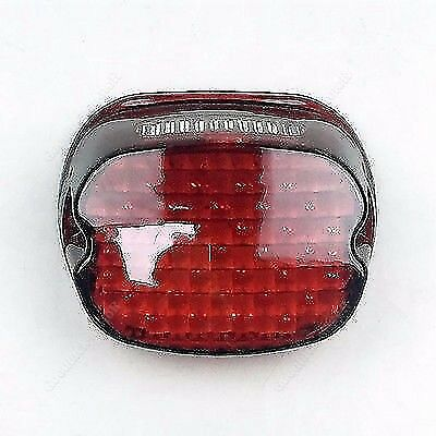 LED Red Tail Brake Light Low Profile for Harley Dyna Road King XL 833 1200 GD