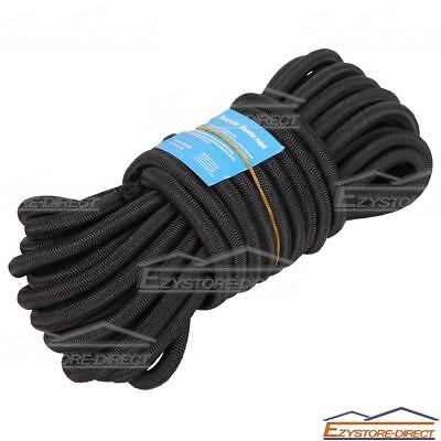 8mmx10m Polyster Elastic Rope Rubber Shock Core Bungee Tie Down Tent Kayak