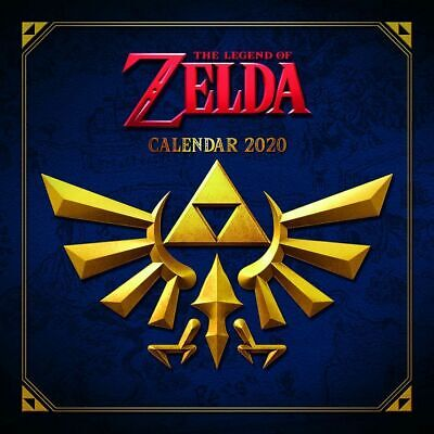 The Legend of Zelda Official 2019 Square Wall Calendar by Pyramid International
