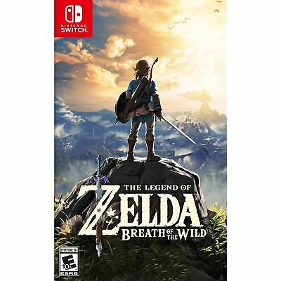 (Nintendo Switch, Standard, Disc) - The Legend of Zelda: Breath of the Wild