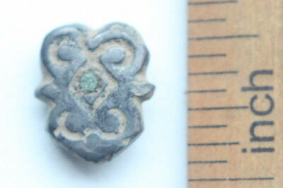 Ancient Old Ornament Overlay Avar Mount Adornment. (OCR02)