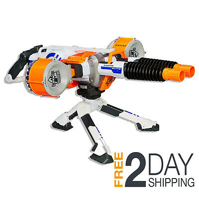Nerf Elite Rhino Fire Blaster 50 Darts Bullets Gun Machine Motorised Barrel
