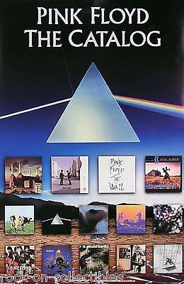Pink Floyd Original Catalog In Store Promo Poster Double Sided