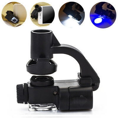 Camera Clip Magnifying Glass Macro Lens Zoom Magnifier Mobile Phone Microscope