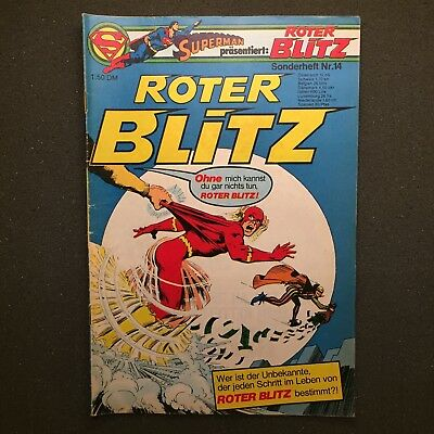 Roter Blitz Sonderheft Nr. 14 Ehapa Verlag 1977 DC Comics The Flash