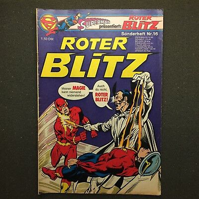 Roter Blitz Sonderheft Nr. 16 Ehapa Verlag 1977 DC Comics The Flash