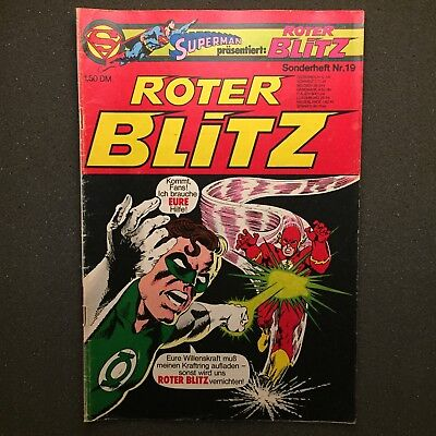 Roter Blitz Sonderheft Nr. 19 Ehapa Verlag 1977 DC Comics The Flash
