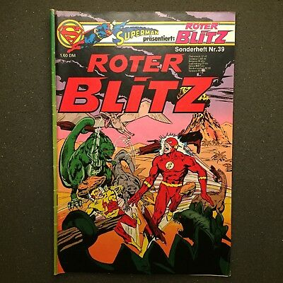 Roter Blitz Sonderheft Nr. 39 Ehapa Verlag 1979 DC Comics The Flash