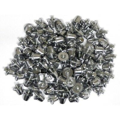 Sports Rugby Union Boot Aluminium Metal Screw Studs - 21mm - Set of 12 or 16