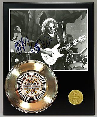 Jerry Garcia Gold Record Reproduction Signature Series LTD Edition Display