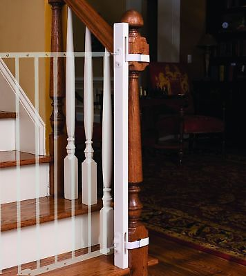 """EZ-Fit: 36"""" Baby Gate Walk Thru Adapter Kit for Stairs + Child and Pet Safety..."""