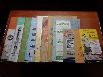 Vintage Manuals Ge, House Hold Appliances