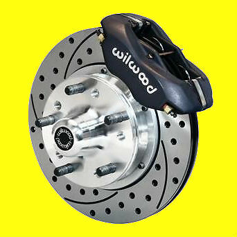 "Wilwood Camaro Chevelle  Front  Disc Brake Brakes Drilled Slotted 11"" Rotors *"