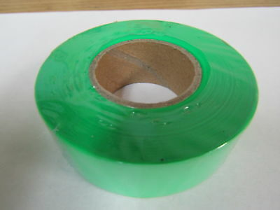 """Forester Flagging Tape 1"""" X 200' - Green #tst-9"""