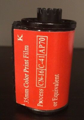 Vintage Unbranded 35mm Color Print Film Used or Expired Ideal for Collectors
