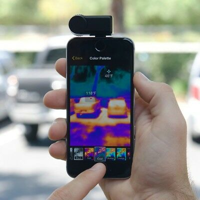 Seek Thermal Compact XR - Extended Range Thermal Imaging Camera for iOS