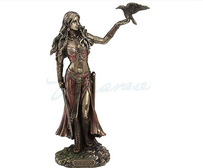 Morrigan - Celtic Goddess Of Birth, Battle & Death Statue Sculpture